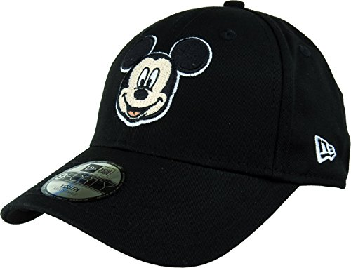 New Era Hero Essential 9Forty Adjustable Kids Cap MICKEY MOUSE Schwarz, Size:Youth