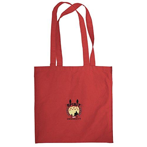 Texlab–Spirit University–sacchetto di stoffa Rot