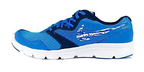 Nike Flex Experience 3 (Gs) Calzatura, Uomo Blu / Bianco (Photo Blue / White-Midnight Navy)