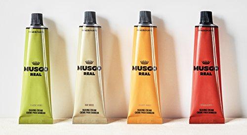 Claus Porto Musgo Real Crème à raser Tube de 4 x 100 ml Complete Collection