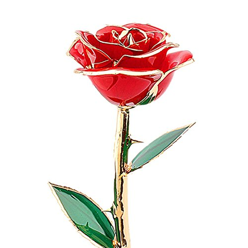 valentines-gifts-for-herrose-zjchao-24-carat-gold-dipped-real-red-rose-flowerlove-gift-for-girlfrien