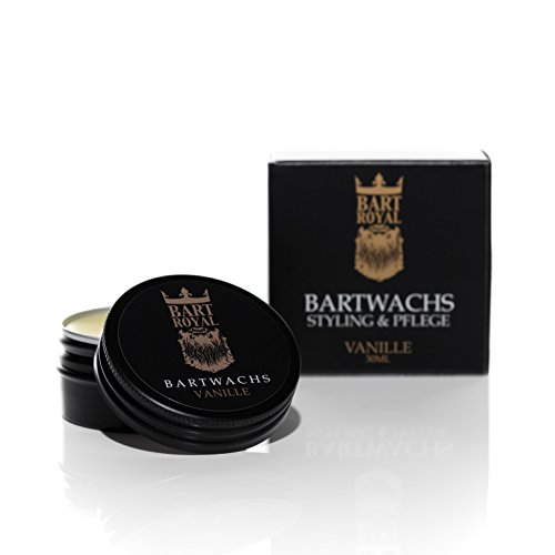Bart Royal Bartwachs Vanille, für Pflege des Bartes