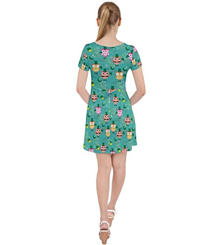 CowCow - Jupe - Femme vert Green Turquoise
