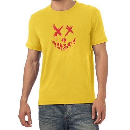 Texlab Suicide Crew - Herren T-Shirt, Größe XXL, Gelb