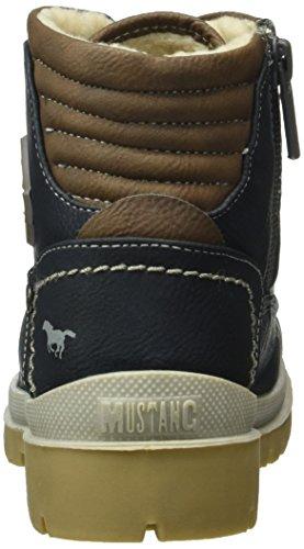 Mustang 5037-604, Bottes Classiques Mixte Enfant Bleu (820 navy)