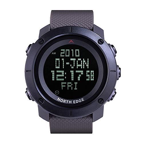 XKC-watches Herren- und Damenuhren, Tank North Edge Männer Mode Professionelle Militär Armee Outdoor Sport Wasserdichte Laufende Schwimmen Smart Digitaluhr