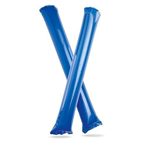 Cheering Sticks - Bang Bang Noise Makers / Clappers for Football & Sports Events (Blue)