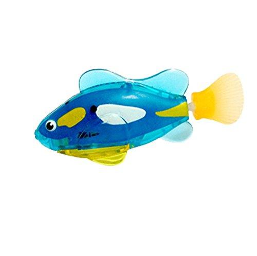 Buweiser Emulation Elektronische Fisch Baby Schwimmen Bad Elektrisches Bad Licht Spielzeug Magisches Licht Sensing 1 STÜCK (D) -