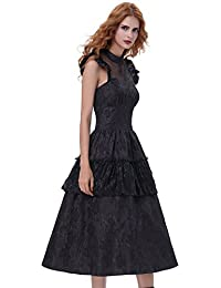 Belle Poque Vestido de fiesta Rockabilly Vestido de cóctel Vintage Vestido de fiesta