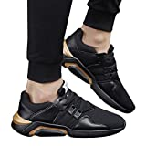 Fashion Breathable Shock Absorption Sneakers Men Casual Soft Sport Shoes