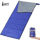 Andake 962g Lightweight Sleeping Bag, Fully Machine Washable, Warm Envelope Sleeping Bag