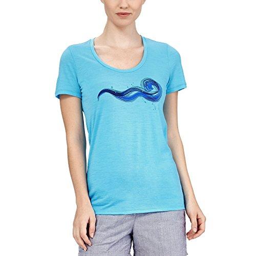 Icebreaker 150 Tech Lite Short Sleeve Scoop Beckon Shirt Women - T-Shirt Capri