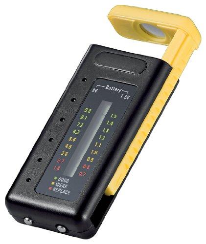 Wentronic 46246 Batterietester für Batterietester mit LCD Anzeige
