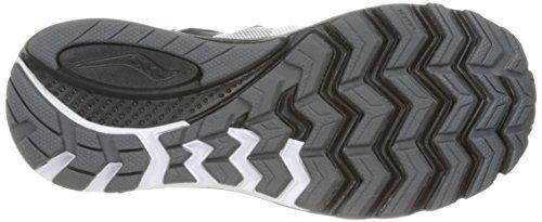 Saucony Zealot Iso 2 Reflex, Chaussures de Running Compétition Femme Blanc (White/black/silver)