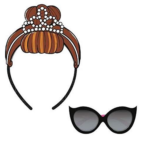 L.O.L. Surprise ! Sonnenbrille Für Mädchen Mit Puppen Stirnbändern LOL | Sommer Geschenk Von It Baby, Doll Face Oder Teacher's Pet | Offizielles Produkt (IT Baby)