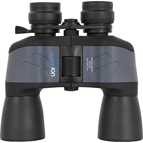Zoomion Zoom-Fernglas Pelican 10-30x50, Fernglas mit Verstellbarer Vergrößerung von 10-Fach bis 30-Fach - 30x30 Fach