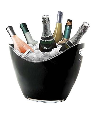 Vin Bouquet FIE 007 - Six bottle wine cooler, colour black