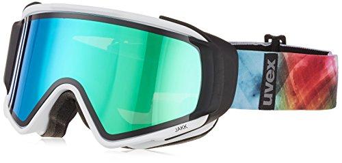 Uvex Erwachsene Jakk Take Off Skibrille, White mat, One Size