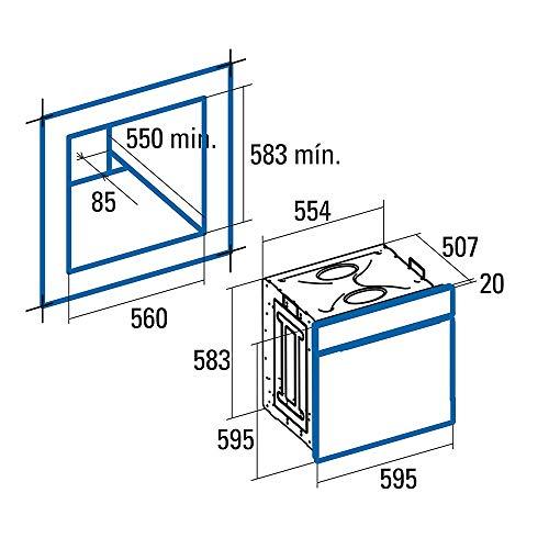 CATA | Horno Multifunción Digital - 6 funciones | Horno Modelo MD...