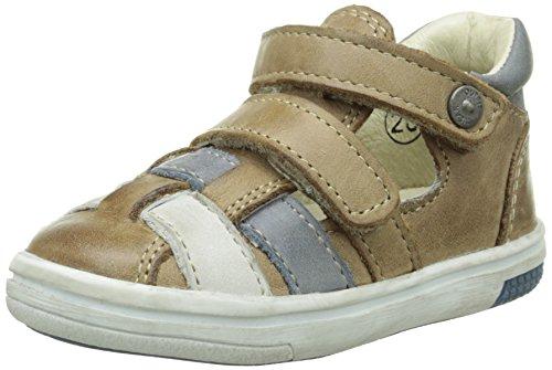 Noël Mini Mum, Chaussures Bébé marche bébé garçon Marron (5 Kraft)