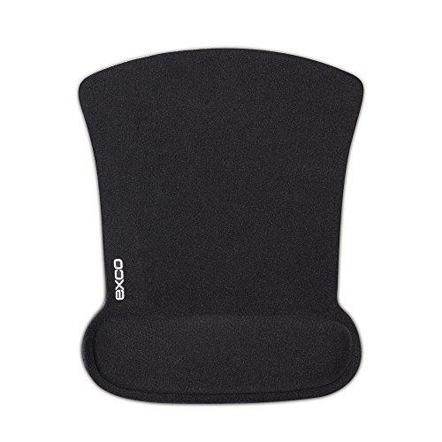 exco-ergonomic-office-mouse-pad-with-memory-foam-wrist-rest-support-black
