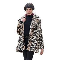 813c6252dc CY Boutique Super Soft faux fur leopard print oversized coat jacket
