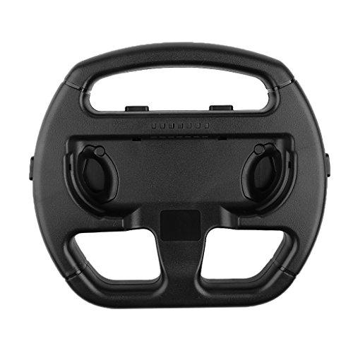 MagiDeal Joy-Con Wheel Steering Wheel for Nintendo Switch Mario Kart Stylish Design Black