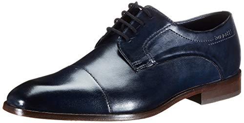 bugatti Herren 312752021100 Derbys, Blau (Dark Blue 4100), 44 EU