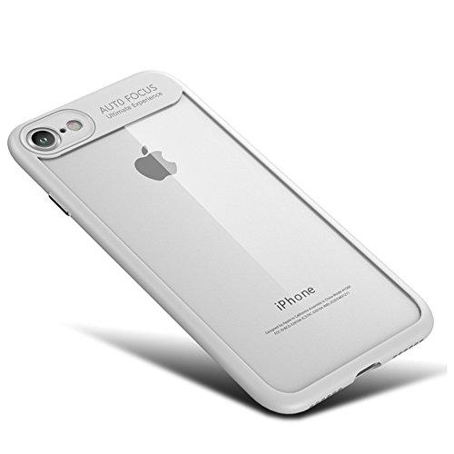 Eleoption iPhone Schutzhülle TPU Soft Cover hochwertige transparent Abdeckung Etui Handschale (für iPhone 7 4,7