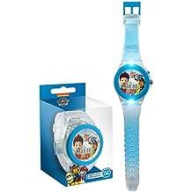 Paw Patrol - Reloj digital correa transparente (Kids PW16125)