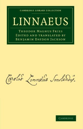 Linnaeus (Cambridge Library Collection - Botany and Horticulture) by Theodor Magnus Fries (2011-12-22)