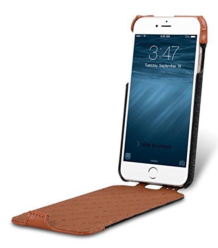 Apple iPhone 6S / 6 Melkco Holmes Serie Abdeckung Typ Premium-Leder Hand Made Flip Case, Guter Schutz, Schlank, von Premium-Gefühl Obscure / Braun 2