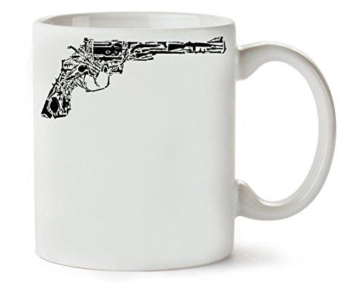 MugsWorld Revolver Made of Guns Dope Klassische Teetasse Kaffeetasse