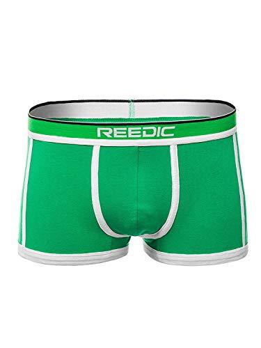 Mj Slip (OZONEE Herren Slip Boxershorts Shorts Unterhose Unterwäsche Farbvarianten R/G514 GRÜN L)