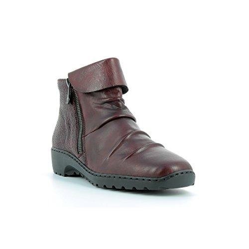 Boots RIEKER modèle Z6083 rouge Rouge