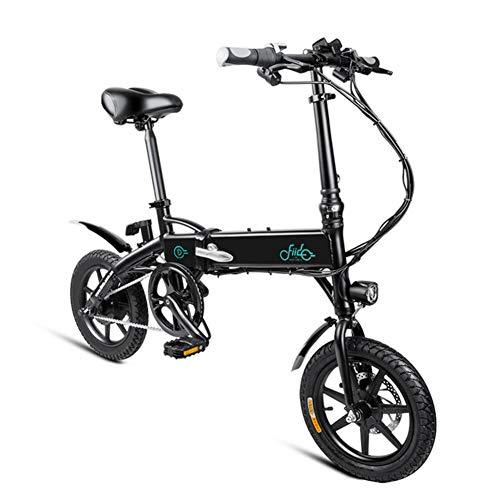 mysticall Electric Bike Folding für Erwachsene, E-Bike, 250 Watt Motor Scooter Electric, 7.8Ah / 10.4Ah Elektrisches Klappfahrrad mit Pedalen, bis zu 25 km/h