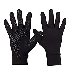 Sykooria Touchscreen Unisex Bicycle Gloves Mens Womens Winter Gloves Sports Gloves Full Finger Cycling Gloves Anti-Slip Windproof Non-Slip