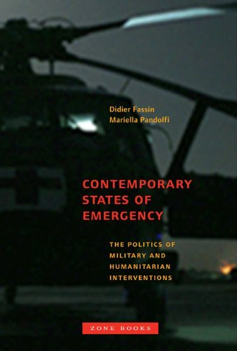 Portada del libro Contemporary States of Emergency: The Politics of Military and Humanitarian Interventions by Didier Fassin (2013-08-02)