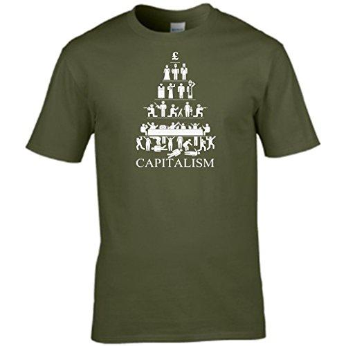 Film CHARACTER - T-shirt da uomo Verde