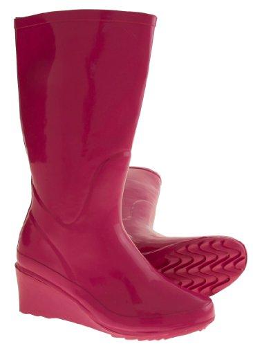 Footwear Studio, Stivali di gomma donna Rosa (rosa)