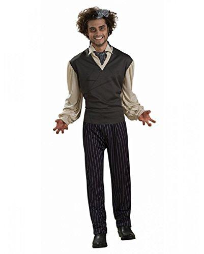 Todd Kostüm für Herren | verschiedene Größen für Fasching & Halloween Standard (Todd Kostüme)