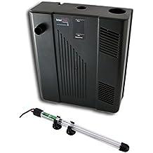Box filtro Jad Multifunctional Bio-Filter BF-108, con riscaldatore - Filtro biologico interno per acquario, completo di pompa, spugna, carbone e