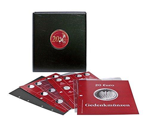 SAFE Vordruckalbum 20 Euro-Silbermünzen Bundesrepublik Deutschland, Vordruckalbum mit Münzabbildungen