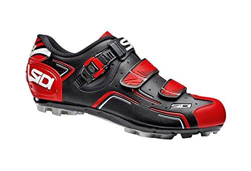 Sidi MTB Buvel Fahrradschuhe Herren black/red Größe 42 2017 Mountainbike-Schuhe
