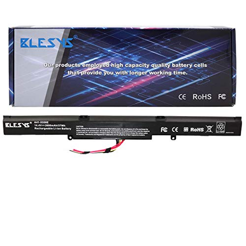 BLESYS A41-X550E Akku Ersatz Laptop Akku passend für ASUS A450J A450JF X450J X450JF K550E X450E X450JF R510D R510DP X550E X550Z X550ZA X550ZE Notebook Akkus -