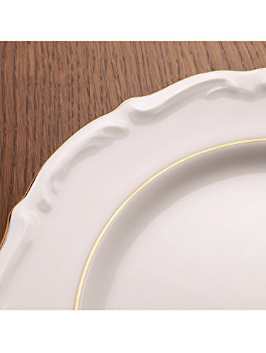 Unisex 18tlg. Kaffeeservice Maria Theresia mit Goldlinien-Dekor Creatable