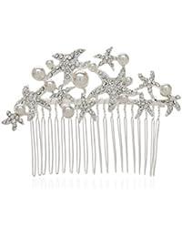 AWEI Faux Diamant Peigne Cheveux Mariage/ Pince Cheveux Mariage, Décoration de Fête, Vintage Accessoire pour Cheveux