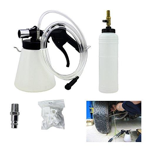 Hengda® Bremsenentlüftungsgerät Druckluft 90-120 psi Nachfüllflasche 1L Wechseln Bremsen KFZ Werkzeug