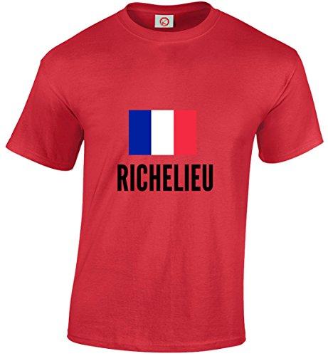 T-shirt Richelieu city rossa