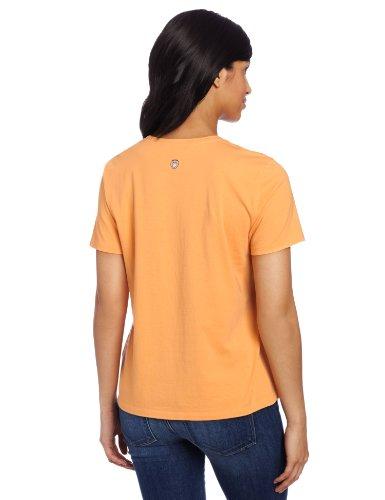 Life is Good Damen alle in Crusher Tee orange - tangerine orange